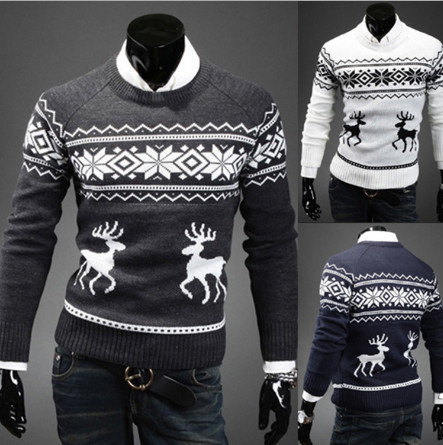 Men Wholesale Cheap Christmas Pullover Sweaters