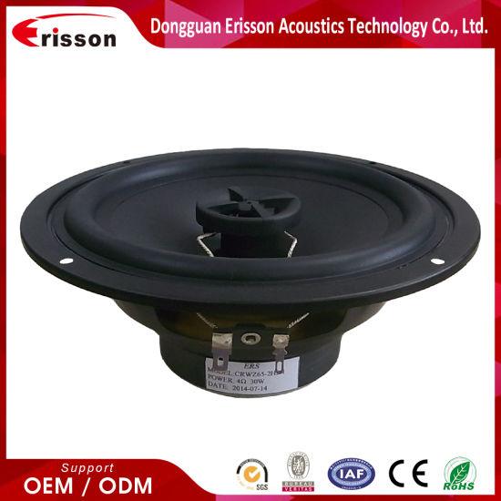 OEM/ODM Supplier 80watts 6.5 Inch Coaxial Loud Speaker