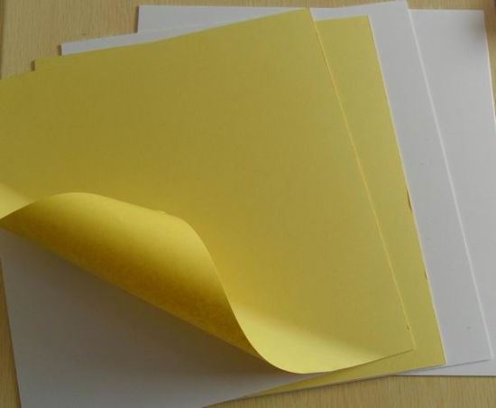 Double Sides Adhesive PVC Sheet for Photo Album 0.6mm pictures & photos