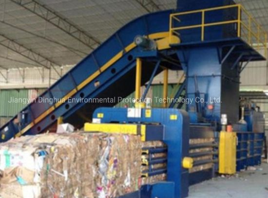 Used Scrap Metal Hydraulic Compress Baler Packing Machine