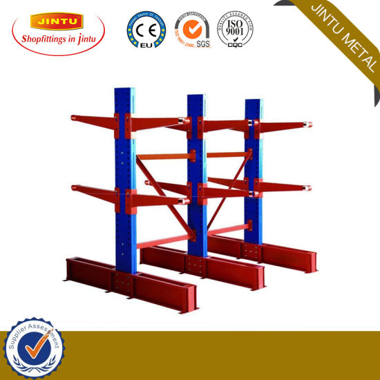 Industrial Lower Price Warehouse Cantilever Racking for Rebar Storage