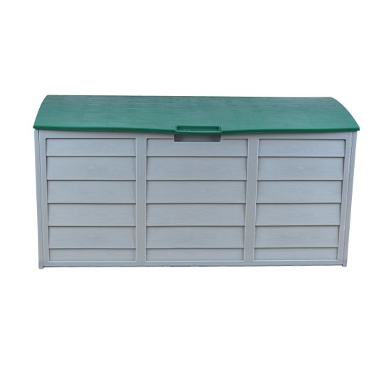 Storage Box. Outdoor Garden Plastic Utility Chest Cushion Shed Box