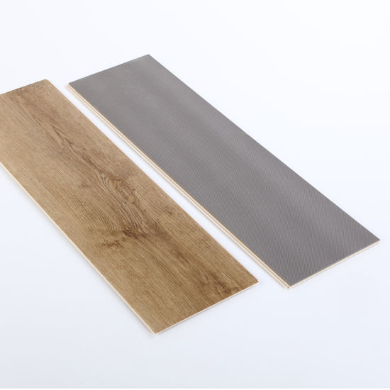 Sanding Rigid Polymer Core Spc Vinyl Flooring with Many Certification