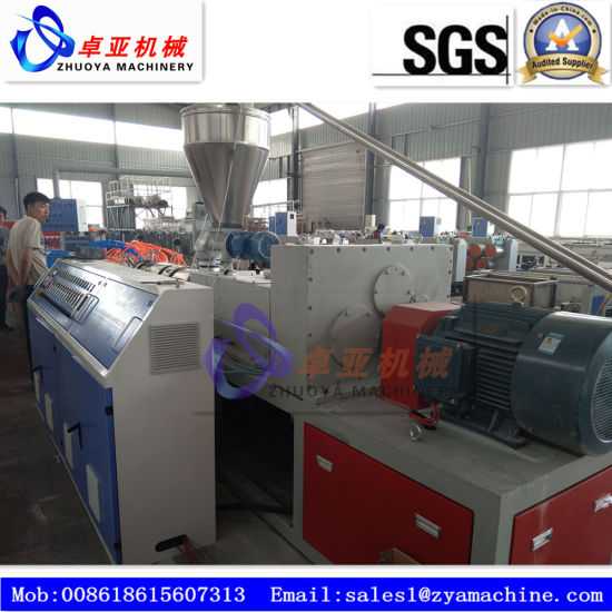 Plastic PVC Decoration Panel Board Extrusion Line pictures & photos