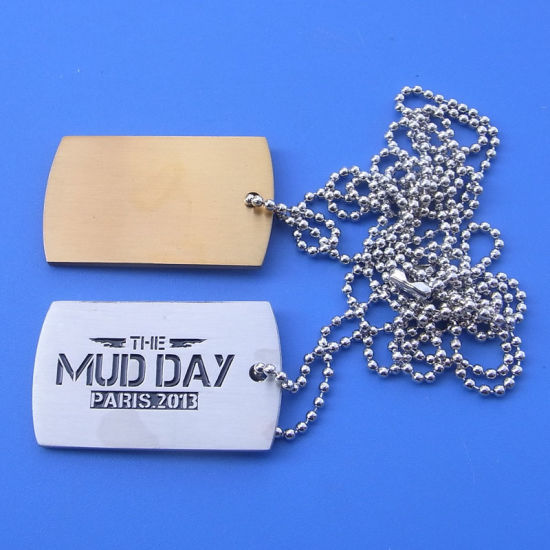 Hot Custom Logo Military Dog Tags Promotional Gifts pictures & photos