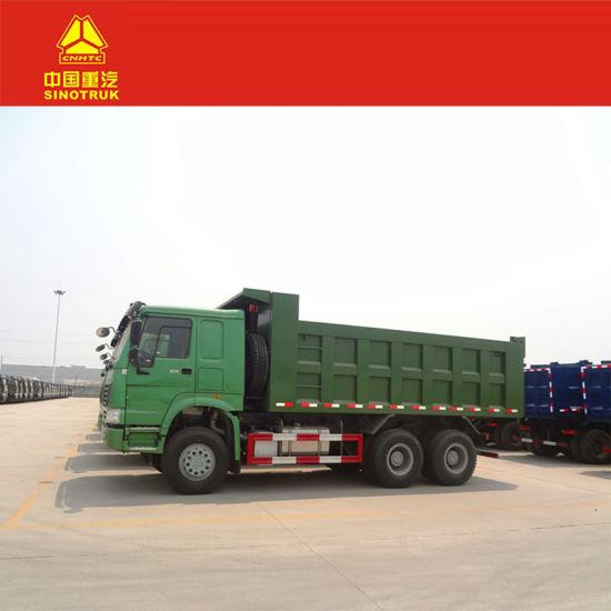 Wholesale Manual HOWO Heavy Tipper Truck of Diesel 6*4 Dump Truck