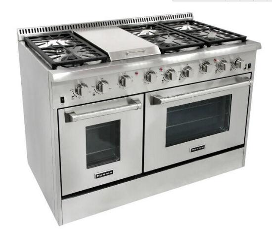 48 Inch Heavy Duty Commercial Freestanding Cooker