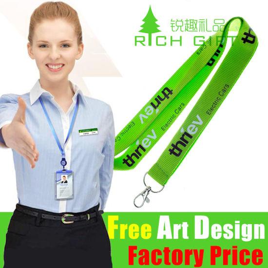 Customized Fashion Design Polyester/Sublimation Lanyard for Students