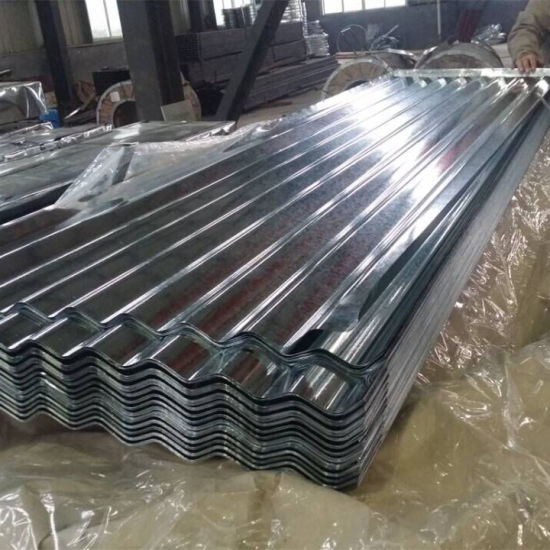 Hrb90-95 Corrugated Galvanized Steel Sheet in Coil for Roofing Tiles