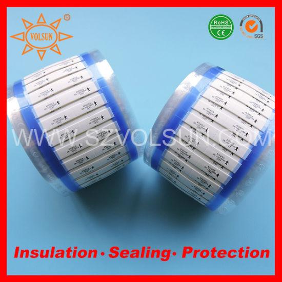China White/ Yellow Printable Polyolefin Heat Shrinkable Wire ...