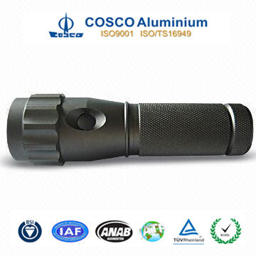 Colorful Anodized Aluminum Flashlight with High Precision Machining pictures & photos