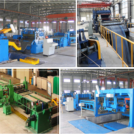 Xth650 Steel Strip Slitting Line and Crosscut Metal Shearing Line From Helen 3# pictures & photos