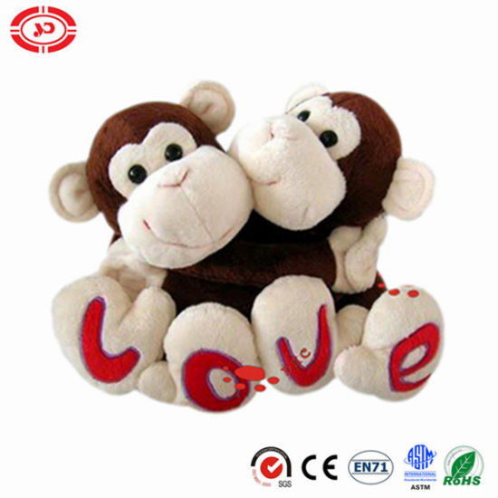 Plush Sweethearts Valentines Sitting Monkey Animal En71 Toy