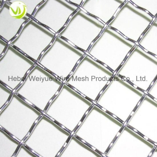 China High Quality Woven Crimped Wire Mesh Galvanized/Decorative ...