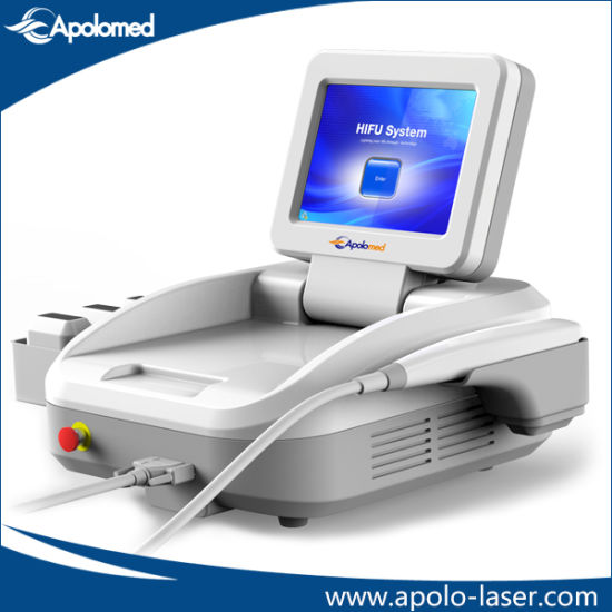 Hot Sale Portable High Intensity Focused Ultrasound Hifu/ Hifu Anti-Wrinkle Equipment pictures & photos