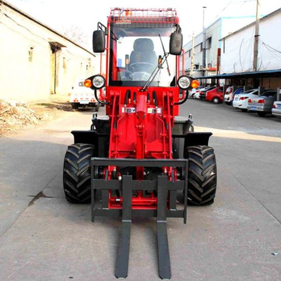 China Manufacture Zl10 Jcb Bobcat Small Mini Wheel Loader pictures & photos