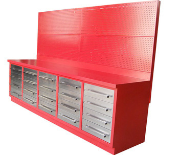 Steel Workbench With Pegboard Whole