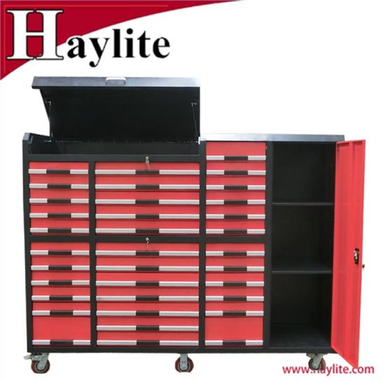 Trolley Garage Use Heavy Duty Roller Drawer Tool Cabinet Box