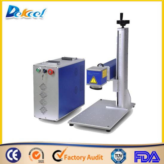 Metal/ Plastic/Phone Shells Portable Laser Marking and Engraving Machine Price pictures & photos