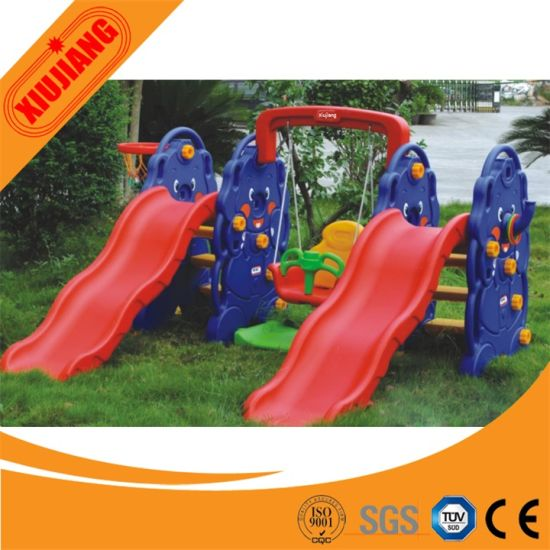 Attractive School Play System Small Plastic Slide for Children pictures & photos