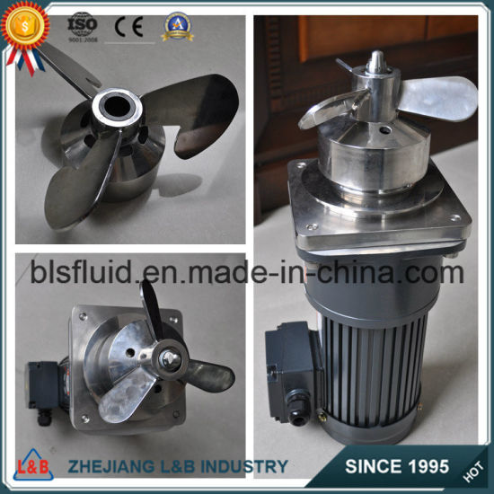 Stainless Steel 316 Magnetic Bottom Mixer/Magnetic Stirrer pictures & photos