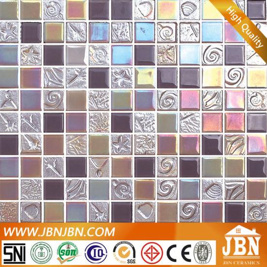 wall decor tiles. Crystal Glass Wall Decor Mosaic Tiles  G423024 China