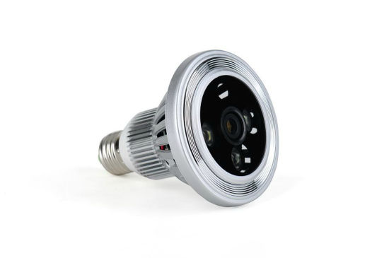 H264 WiFi Light Bulb Camera Bulb Light Camera Socket Mini Light Mobile View WiFi DVR P2p IP Camera pictures & photos