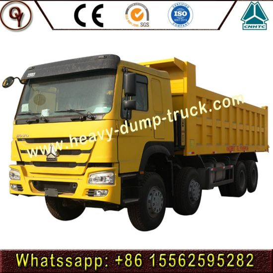 Sinotruk HOWO 371HP Tipper Truck/ Dump Truck for Sale 8X4 40tons Heavy Truck