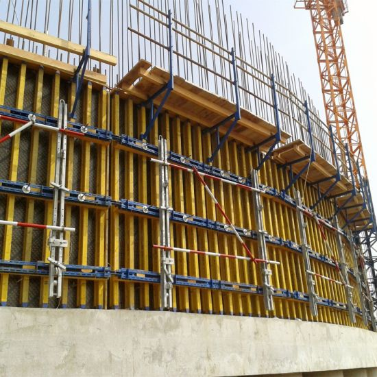 Factory Price Reusable Building Material Timber Beam Wall Formwork