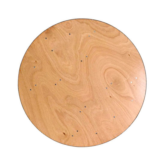 30''/48''/60''/72 Inch Round Commercial Plywood Folding Hotel Events Table