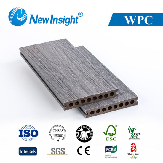 Outdoor WPC Flooring with Fsc Standard