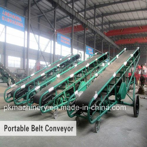 Belt Gravity Mobile Portable Roller Elevator Belt Conveyor