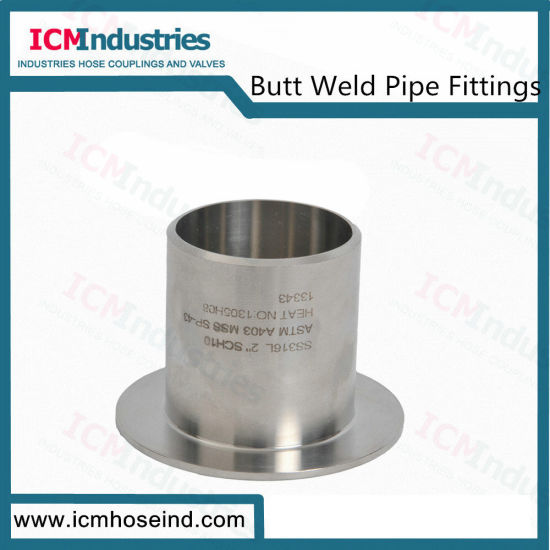 Stainless Steel Pipe Fitting 304L Type a Stub End Weld Fittings