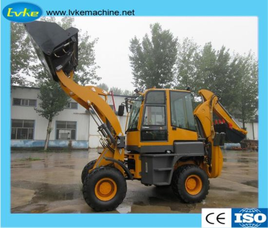 Construction Machinery Backhoe Loader in Bulldozer with Quick Hitch for Sale pictures & photos