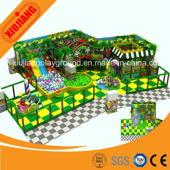 Popular Modern Games Children Play Area Electronics Soft Play Equipment