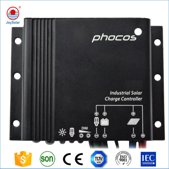 Phocos 5A 10A 20A Solar Charge Controller with Ce RoHS Certificate for Solar Street Light