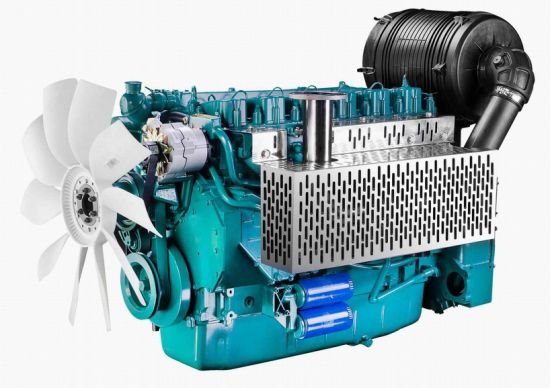 Water Cooled Deutz Diesel Engine (WP10D264E201) pictures & photos
