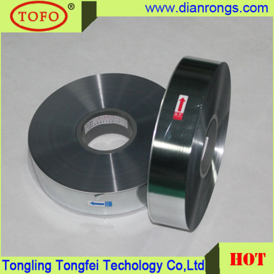 High Quality Metallized Polyester Film for Capacitor Use