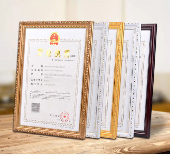China Certificate Frames 11X14 Document Frame - Made for Documents ...