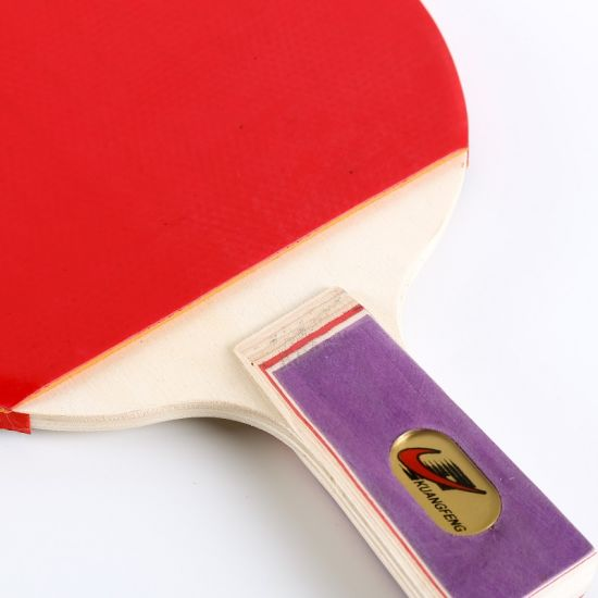 Ping Pong Paddle Set of Penhold Short Handle