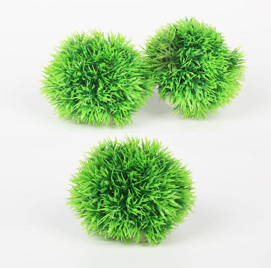 China Fish Tank Plant Aquarium Decoration Plastic Moss Ball China Mesmerizing Decorating With Moss Balls