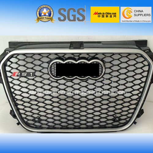 "Auto Car Front Grille for Audi RS1 2010-2014"" with Black pictures & photos"