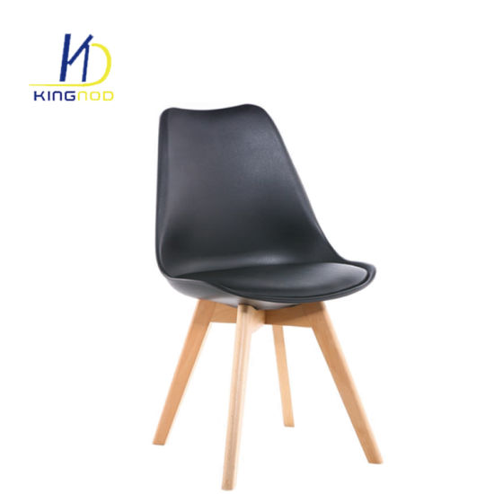 Replica Modern Leather Cushion Dining Room PP Plastic Tulip Chair  sc 1 st  Tianjin Kingnod Furniture Co. Ltd. & China Replica Modern Leather Cushion Dining Room PP Plastic Tulip ...