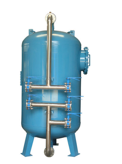 China Manual Control Backwash Activated Carbon Filter for