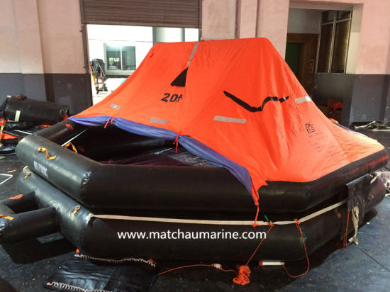 Commercial Vessel Solas Inflatable Life Raft pictures & photos