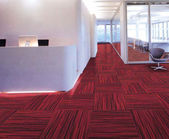 Cafe Bar Office Printed Floor Carpet