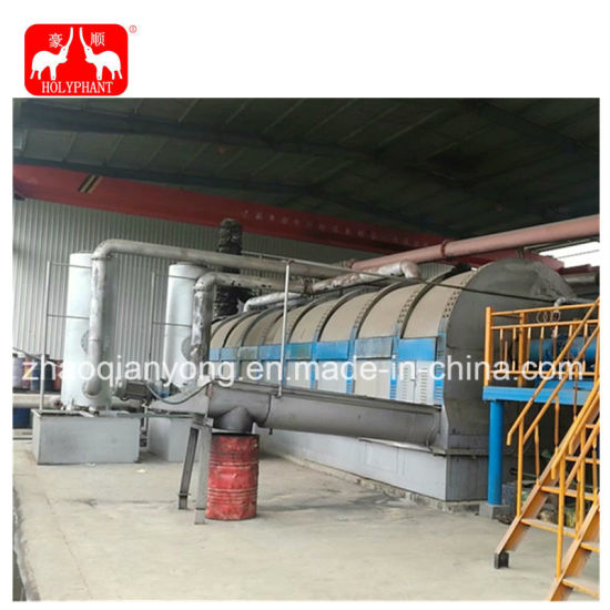 China 5-20t/D Mini Waste Plastic Tyre Pyrolysis Plant