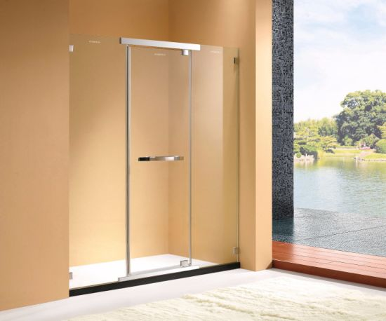 1400~1800 mm Width 304 Stainless Steel Accessories Shower Enclosure Doors pictures & photos