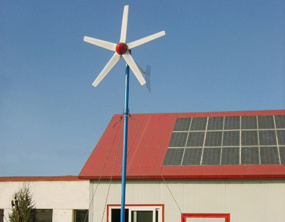 5kw Wind Turbine and Solar Panel Hybrid System pictures & photos
