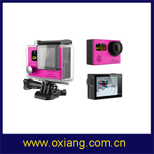 Dual Screens WiFi 2′′ Sport Camera Similar Gopro Hero 4 pictures & photos